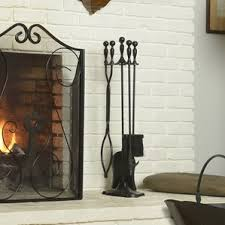 Unique Fireplace Tools by Fireplace Accessories You U0027ll Love Wayfair