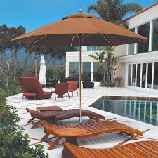 Patio Umbrella Table by Galtech Sunbrella 11 Ft Maximum Shade Patio Umbrella Hayneedle