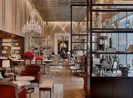 grand salon at the baccarat hotel new york commercial design