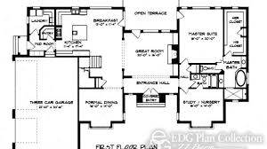country house floor plan likeable house plan flemish manor 1st floor english country home