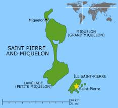map of st and miquelon big blue 1840 1940 st and miquelon