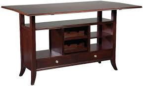 console table with wine storage fairfield tables flip top wine rack console table with open storage