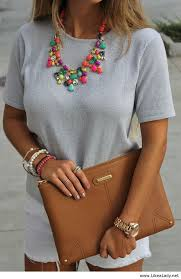style statement necklace images 20 style tips on how to wear statement necklaces jpg