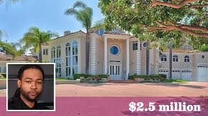 rapper drake house partynextdoor drops 2 5 million on mediterranean mansion in