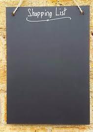 Shabby Chic Shopping by Shabby Chic Shopping List A4 Chalkboard Simple 30cm X 21cm Memo