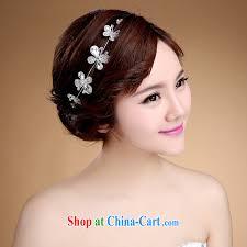 wedding headdress korean style hair accessories bridal jewelry wedding headdress