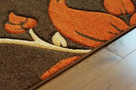 Stain Resistant Rugs Detail Carpet Orange And Brown Area Rug Brown Burnt Orange Beige