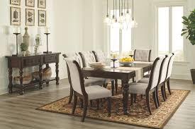 8 piece dining room set porter dining room table ashley furniture homestore