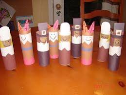 thanksgiving day toilet paper roll craft preschool