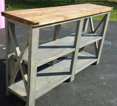 Rustic Buffet Tables by Industrial Sideboard Buffet Table My Latest Project Love The