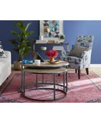 Tables In Living Room Monterey Coffee Table Nesting Furniture Macy S