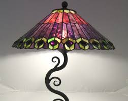 Wrought Iron Table Lamps Wrought Iron Lamp Etsy