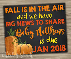 best 25 fall pregnancy announcement ideas on pumpkin