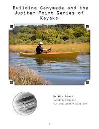 ganymede guillemot kayaks small wooden boat designs