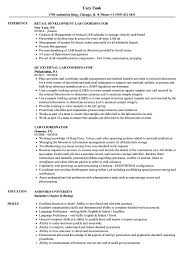 nursing resume exles images of liquids with particles png lab coordinator resume sles velvet jobs