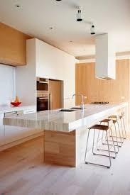 House Interior Design Kitchen Cozinha Americana Com Madeira Integrada A Sala De Jantar Pad