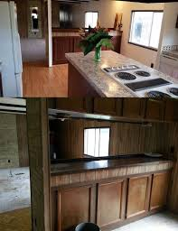 Kitchen Cabinets Redone by 6 Great Mobile Home Kitchen Makeovers