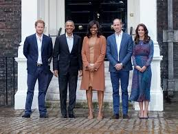 where does prince harry live prince harry and barack obama meet at kensington palace people com