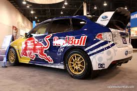 sti subaru red 2009 tuned subaru impreza wrx sti for 2009 red bull new year