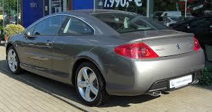 peugeot 407 hdi file peugeot 407 coupé v6 hdi fap 240 automatik platinum rear