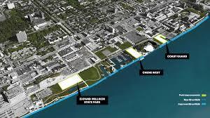 Riverwalk Map Detroit Riverfront Conservancy Reveals Plans For East Riverfront