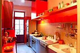 cuisine coloree modèle décoration cuisine colorée