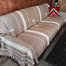 plaids pour canapé boutis pour canapé