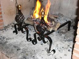 accessori per camini a legna alari per caminetto