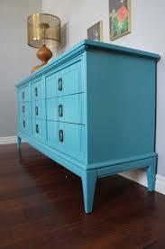european paint finishes vintage modern blue dresser