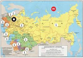 former soviet union map breakup of the u s s r map thinglink