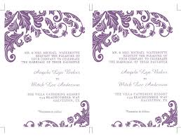 Wedding Invite Template Blank Wedding Invitation Designs Suggestions Matik For
