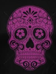 hair stylist apron sugar skull