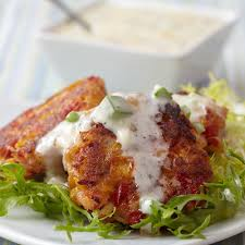 Main Dish With Sauce - lobster cakes with lemon pear tartar sauce stonewall kitchen