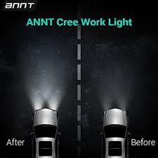 work light mounting bracket masione 18w led work light bar 1260lm waterproof headlight flood