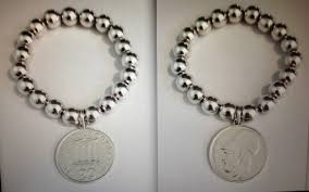 silver bead bracelet with charm images Angeline quinn jewellery bracelets jpg