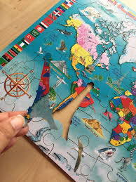 World Map Puzzles by Rainy Day Fun With Wentworth Puzzles Review We Made This Life