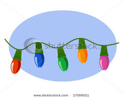 single string lights clip clipart free