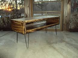 reclaimed wood look coffee table tv console tv cabinet rustic