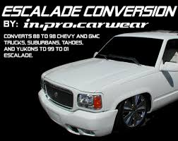 cadillac escalade front end streetpros com america s automotive supermarket product