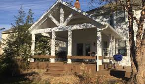 we sell and build new decks and porches kline home exteriors