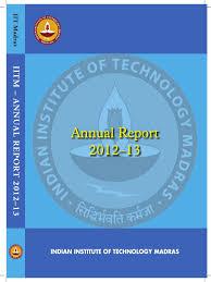 iitm annual report 2012 educational technology engineering