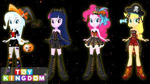 Pony Halloween Costume Girls Pony Equestria Girls Transforms Halloween Special