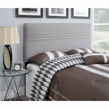 nice king size cloth headboard collection in grey king size