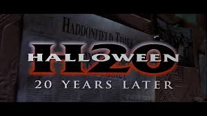 Happyotter Halloween H20 20 Years Later 1998