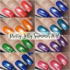 pretty jelly nail polish deep sea jelly summer 2017 collection