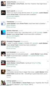 Anne Frank House Floor Plan Justin Bieber Causes Outrage With Anne Frank U0027hopefully Would Have