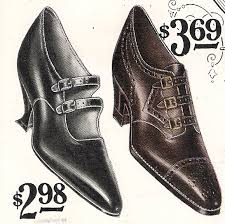 History Of 1920s Fashion Shoes