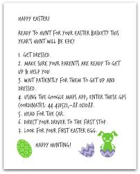 easter bunny letter the great gps easter egg hunt life as a