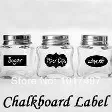 Labels For Kitchen Canisters Online Get Cheap Kitchen Chalkboard Wall Aliexpress Com Alibaba