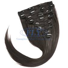 clip hair canada 16 inches clip in hair extensions canada color 1b black